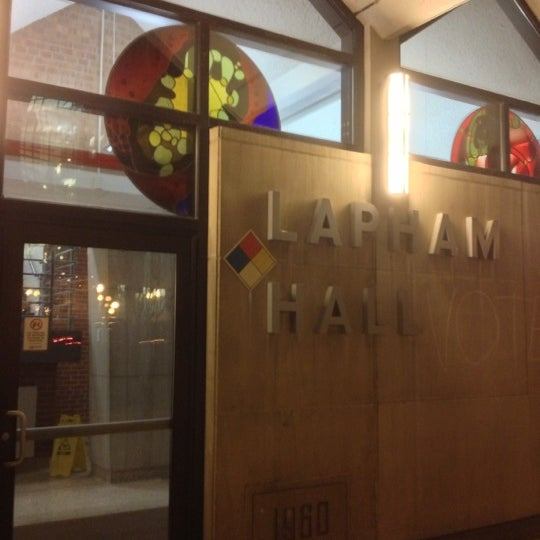 Photo taken at UWM Lapham Hall by Bruce D. on 11/15/2012