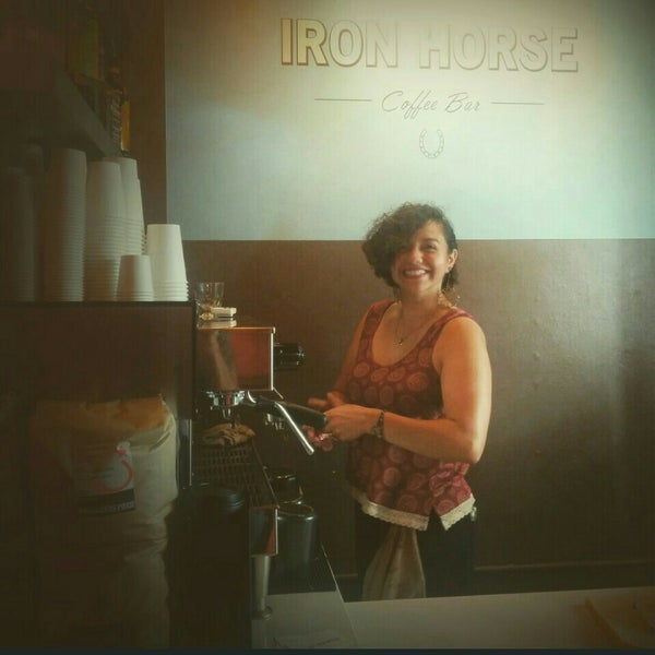 Photo taken at Iron Horse Coffee Bar by Cameron M. on 8/5/2015