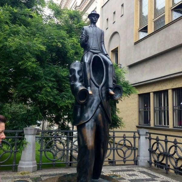 6/25/2013 tarihinde Myunghee H.ziyaretçi tarafından Franz Kafka Museum'de çekilen fotoğraf