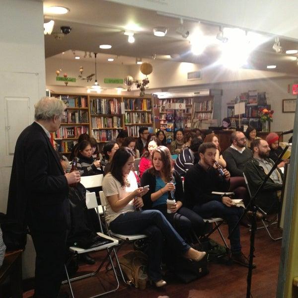 Photo taken at McNally Jackson Books by Raj G. on 3/13/2013