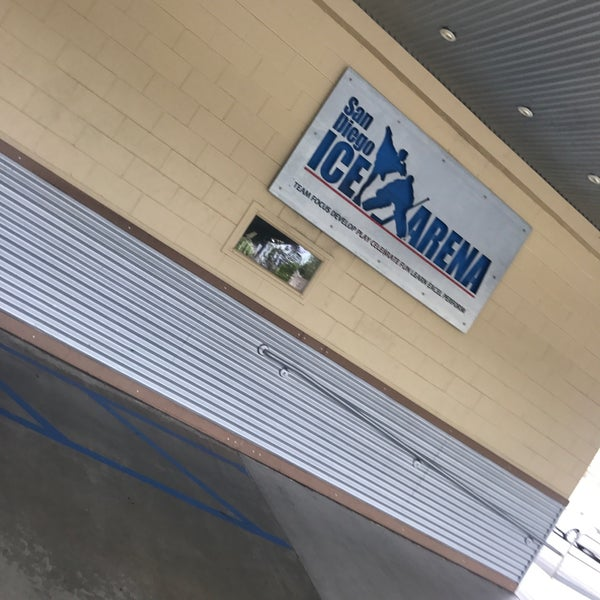 Photo taken at San Diego Ice Arena by Deyanira L. on 4/27/2017