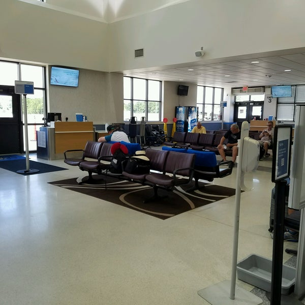 Photo Taken At Coastal Carolina Regional Airport EWN By Anna J On 8