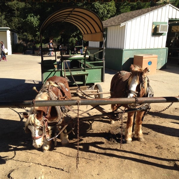 Photo taken at Griffith Park Pony Rides by David LM M. on 11/26/2014
