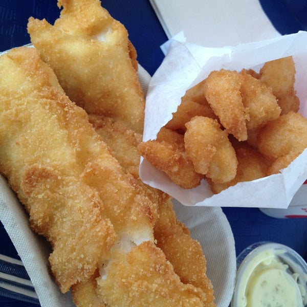 Spud fish chips alki seattle wa for Best fish and chips in seattle