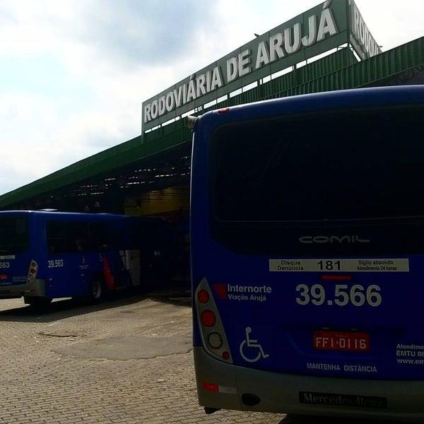 Photo taken at Terminal Rodoviário Arujá by Renato F. on 11/24/2016