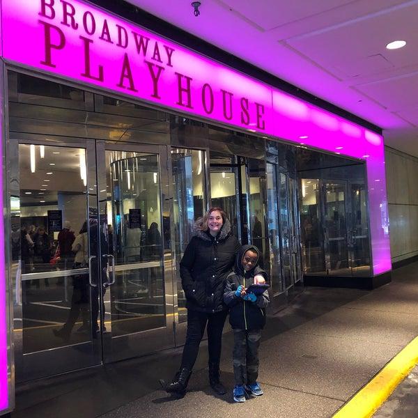 Снимок сделан в Broadway Playhouse пользователем Andrea H. 2/18/2018