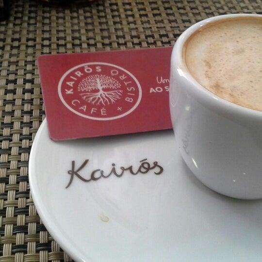 Foto tirada no(a) Café Kairós por Marcos A. em 2/24/2014