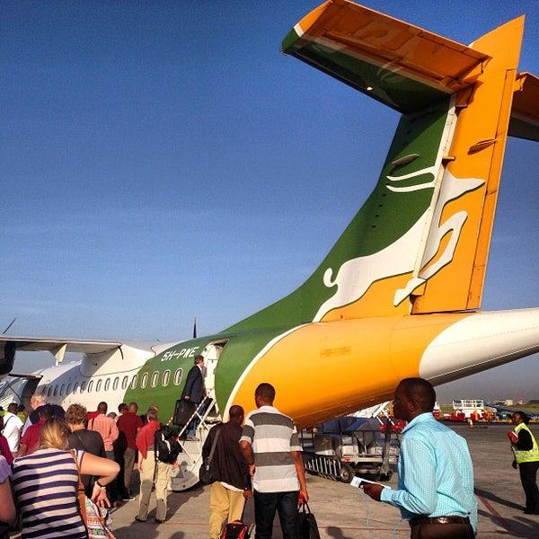 Photo taken at Jomo Kenyatta International Airport (NBO) by Albert C. on 2/8/2013