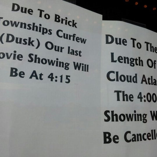 Photo taken at AMC Loews Brick Plaza 10 by Janine D. on 11/2/2012