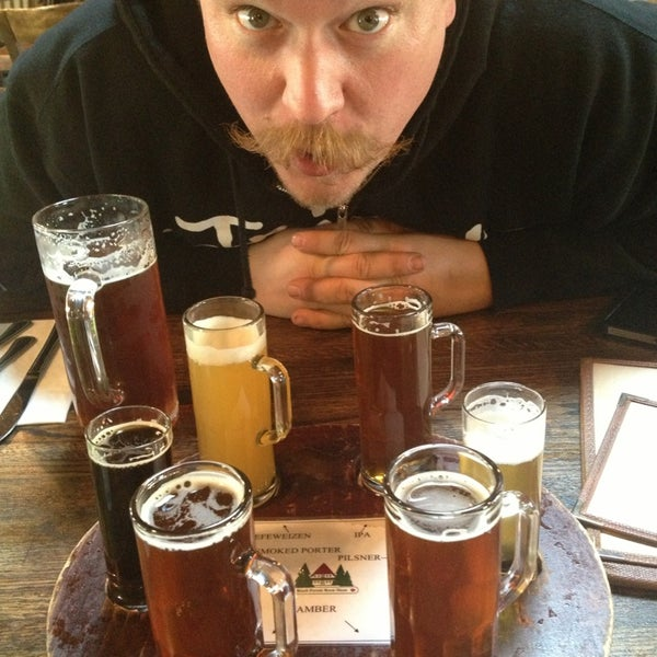 Photo taken at Black Forest Brew Haus by Melissa on 4/7/2013