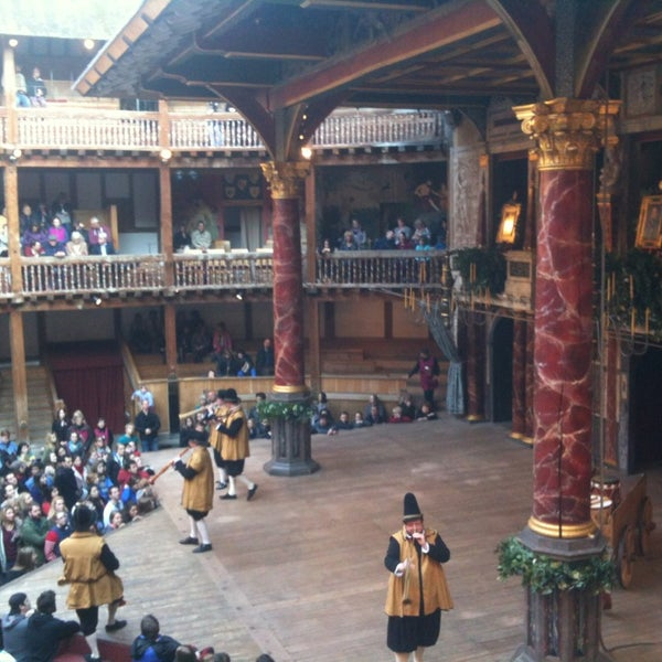 Photo taken at Shakespeare's Globe Theatre by Tejel P. on 5/25/2013