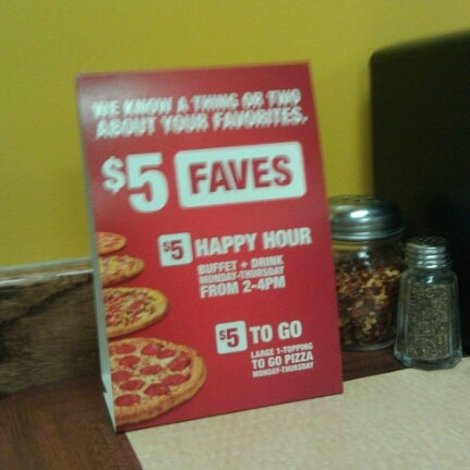 Photo taken at Cicis by π on 9/17/2012