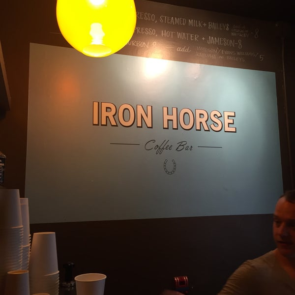 Photo taken at Iron Horse Coffee Bar by Norbert H. on 2/25/2016