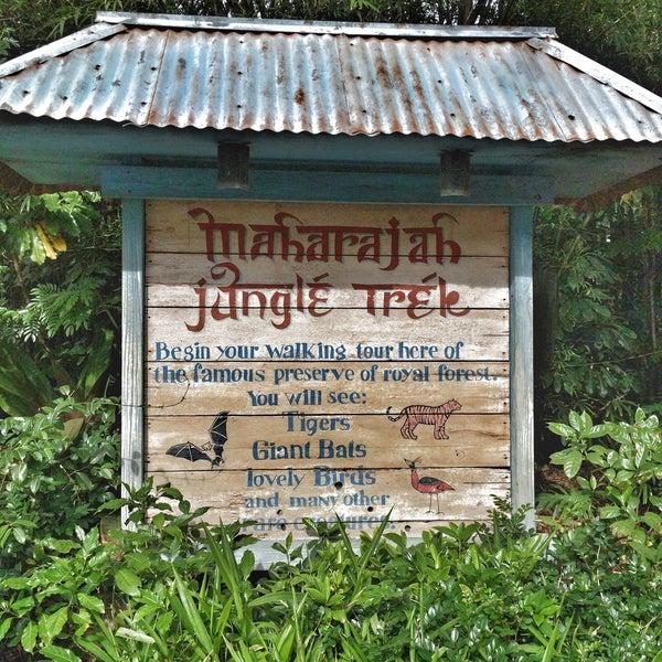 Photo taken at Maharajah Jungle Trek by Enio G. on 12/9/2015
