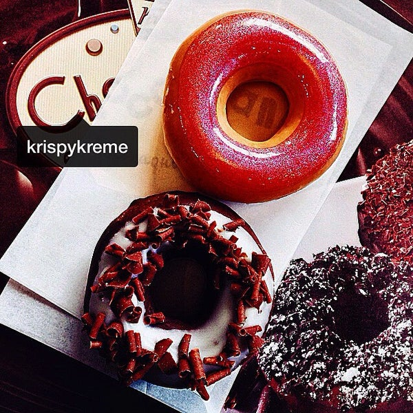 Снимок сделан в Krispy Kreme пользователем Elena 🎶 K. 9/5/2014