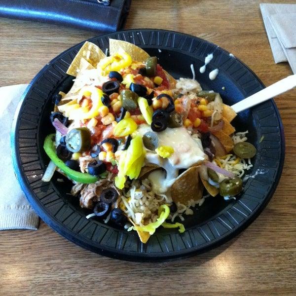 Photo taken at Bandit Burrito by Chris R. on 9/28/2013