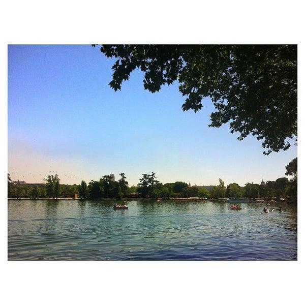 Photo taken at Lago de la Casa de Campo by Martika on 6/15/2013