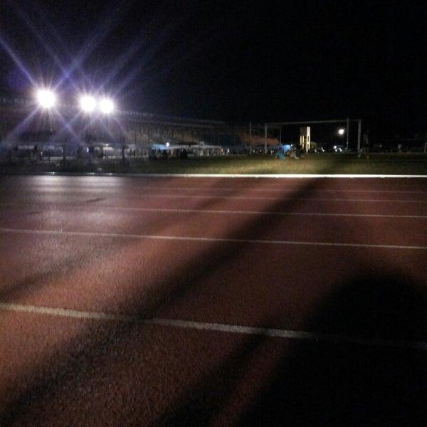 Photo taken at Iloilo Sports Complex by Steffaniie G V. on 3/27/2014
