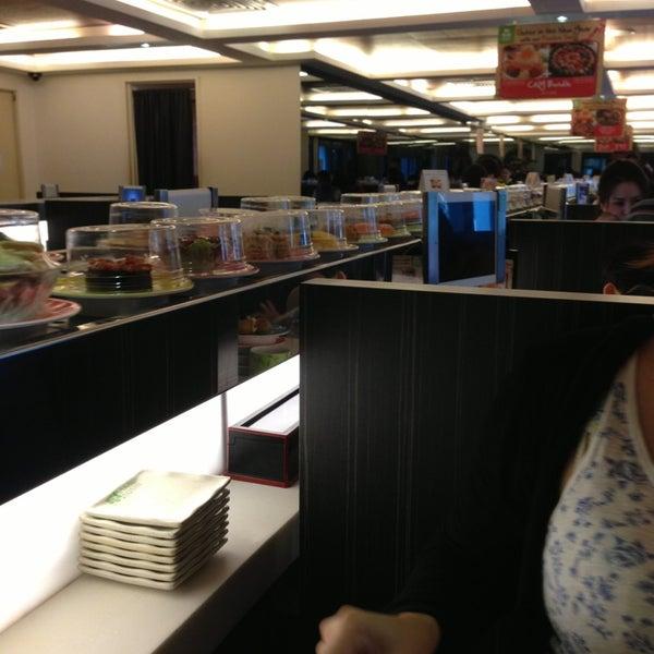 Photo taken at Sakae Sushi by Justine Nicolle B. on 1/26/2013