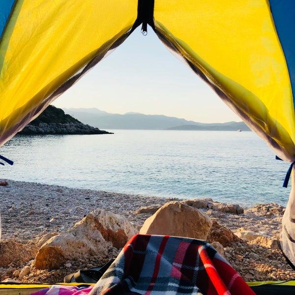 Gece gelen piknikçileri ve gürültülerini saymazsak kamp için ideal bir yer 👍🏻