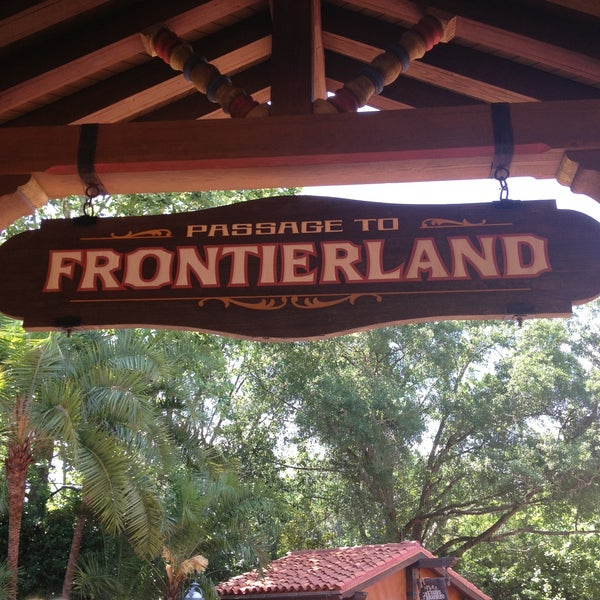 Photo taken at Frontierland by Susan P. on 5/9/2013