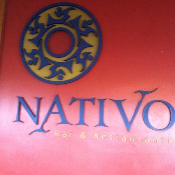 Foto scattata a Nativo Bar e Restaurante da Sandra C. il 6/9/2013
