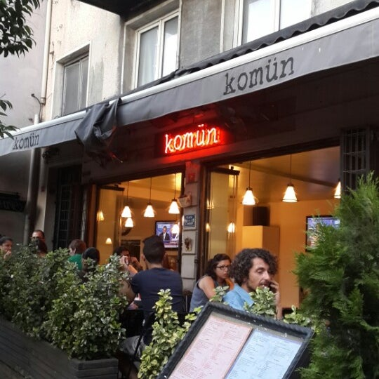 Photo taken at Komün by Enis A. on 7/18/2014