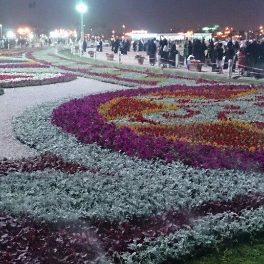 Photo taken at King Abdullah Park by Ahmad K. on 3/20/2014