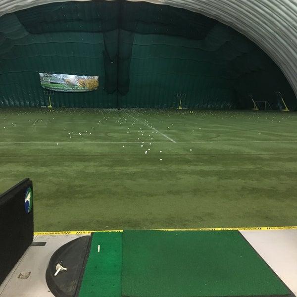 Robert Morris University Island Sports Center - Golf Dome - Neville ...