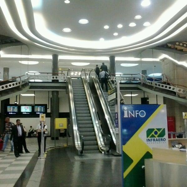 Снимок сделан в Международный аэропорт Конгоньяс/Сан-Паулу (CGH) пользователем Jaciane M. 11/4/2013