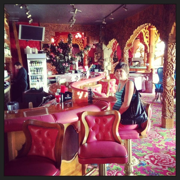 Photo taken at Madonna Inn by David B. on 7/20/2013