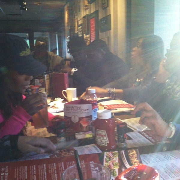Photo taken at TGI Fridays by Aleshia R. on 1/19/2014
