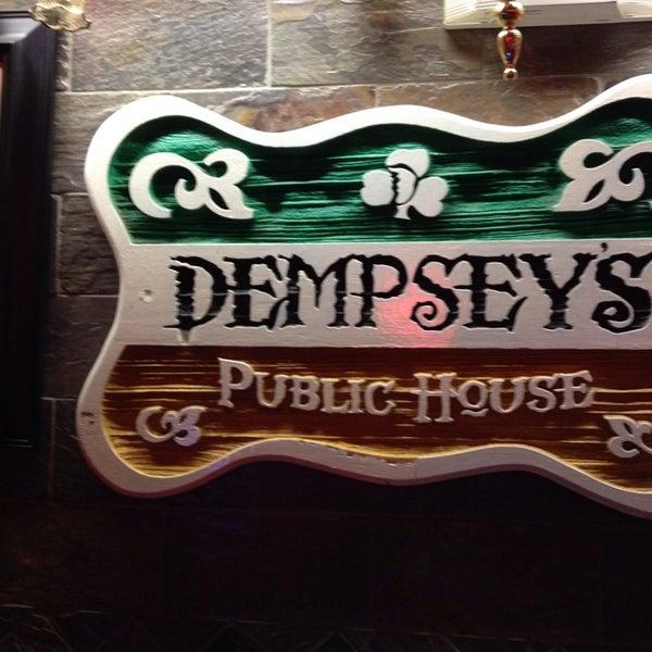 Photo taken at Dempsey's Public House by Toni M. on 1/2/2014
