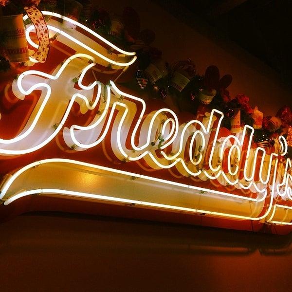 Photo taken at Freddy's Frozen Custard and Steakburgers by David B. on 1/27/2014