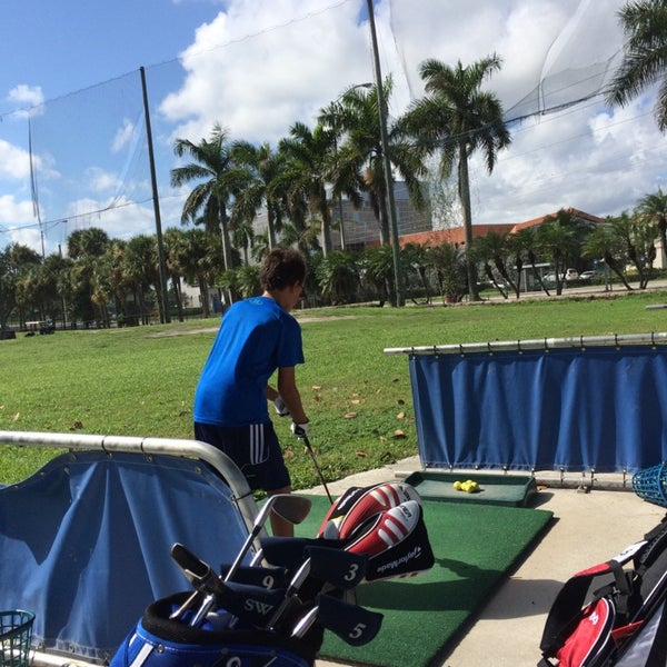 Photo taken at Palmetto Golf Course by Alain M. on 10/12/2014