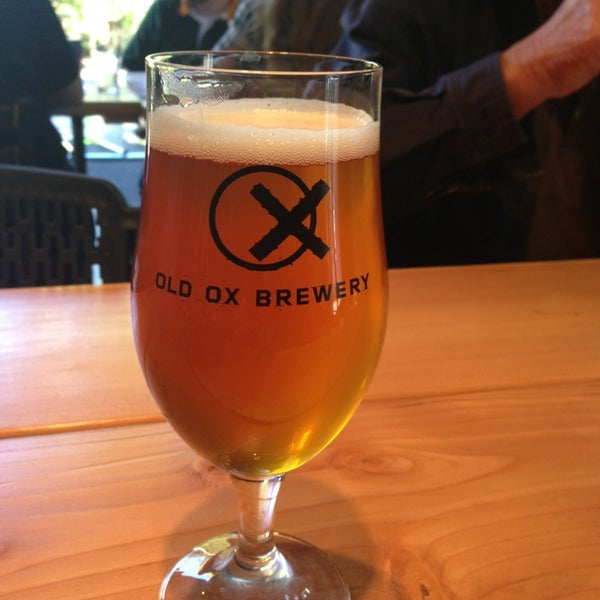 Photo taken at Old Ox Brewery by Cheryl O. on 10/25/2014