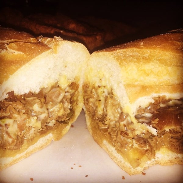 Photo taken at Amato's Cheesesteaks by Javier M. on 3/15/2015