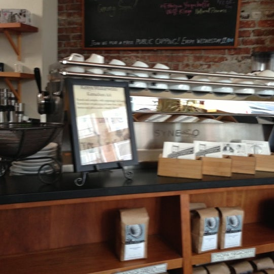 Photo taken at Victrola Cafe and Roastery by Carl T. on 11/15/2012
