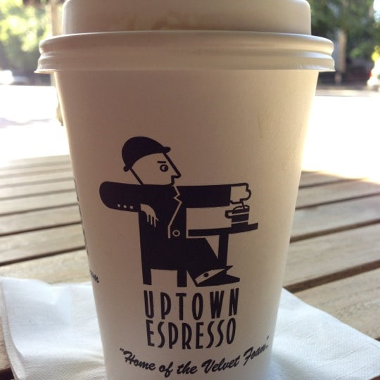 Photo taken at Uptown Espresso by Carl T. on 9/30/2012