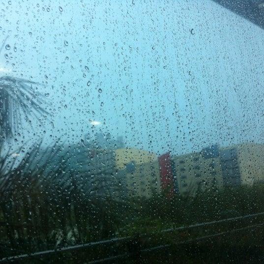 Photo taken at Globe Telecom IT Plaza by Veronica G. on 12/4/2012