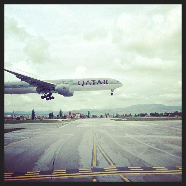 Photo taken at Ankara Esenboğa Airport (ESB) by Can C. on 5/14/2013