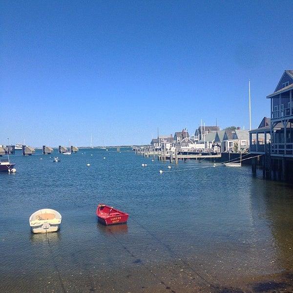 Photo taken at Nantucket Boat Basin by Kiki F. on 5/23/2015