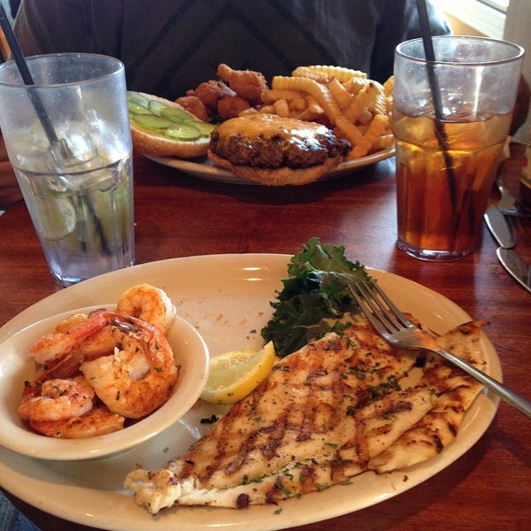 Photo taken at Corky Bell's Seafood by Veronica W. on 3/7/2015