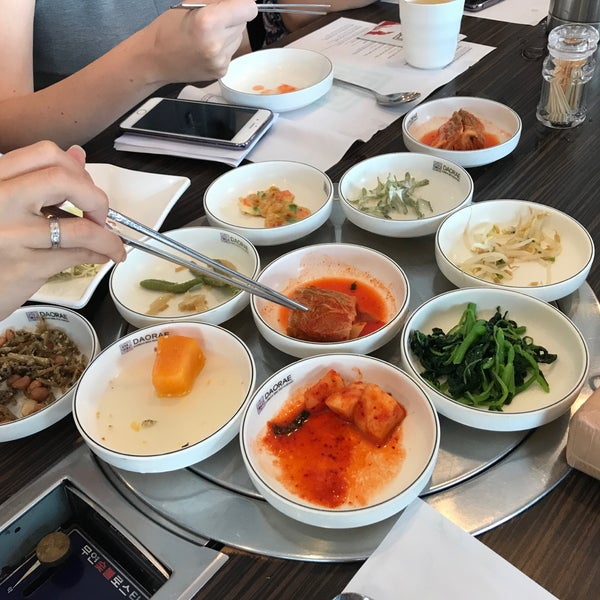 Photo taken at Daorae Korean BBQ Restaurant by edmund ng c. on 6/13/2017