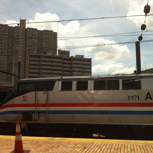 Photo taken at Amtrak: Harrisburg Transportation Center (HAR) by Brad N. on 6/14/2012