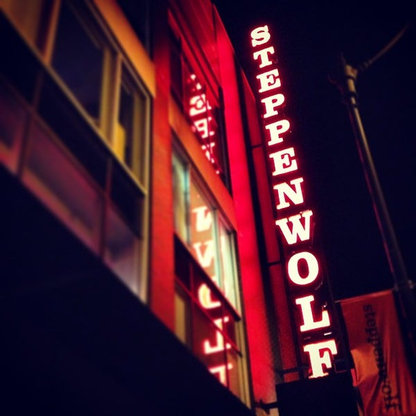 Photo taken at Steppenwolf Theatre Company by Mike R. on 1/18/2013