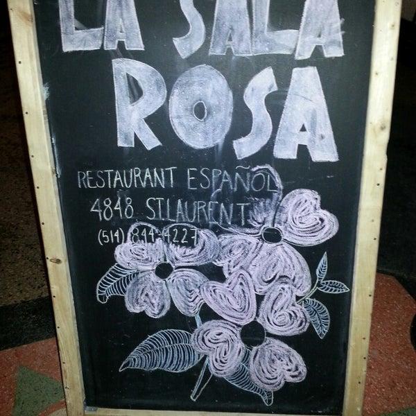 Photo taken at La Sala Rossa by DJ Shane O. on 2/15/2014