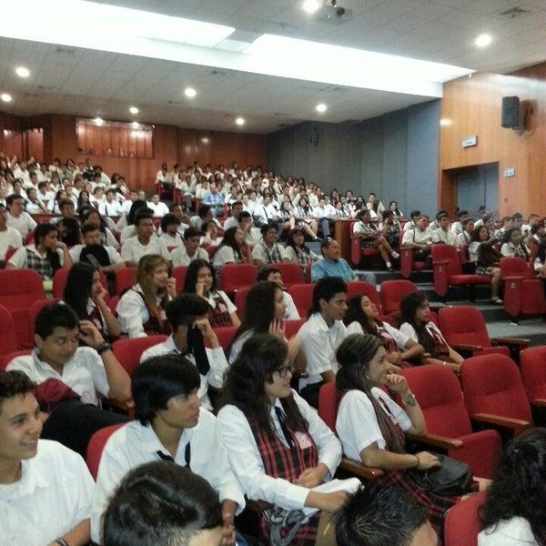 Photo taken at Universidad Pontificia Bolivariana - Seccional Bucaramanga by Jhon S. on 10/28/2013
