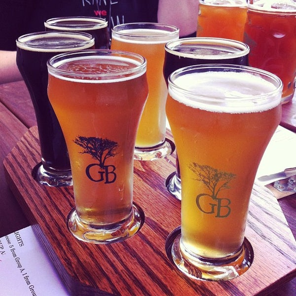 Photo taken at Greenbush Brewing Company by Rich C. on 7/27/2013