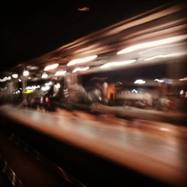 Photo taken at Dadar Railway Station by Manish P. on 11/16/2014